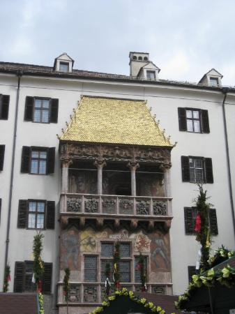 The Golden Roof (Goldenes Dachl): again, the Goldenes Dachl