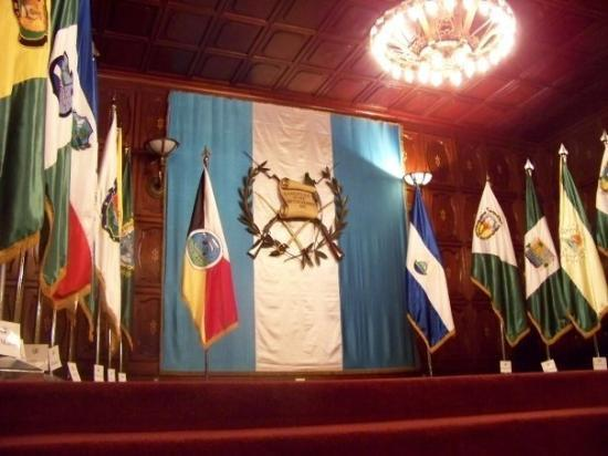 Palacio Nacional: The throneroom