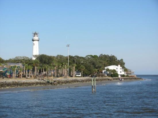 Lighthouse of Saint Simons Island, GA, United States