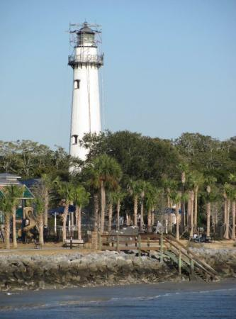 Lighthouse at Saint Simons Island, GA, United States