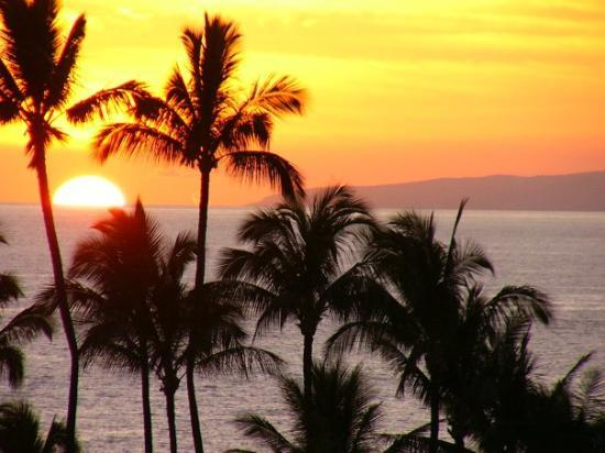 Wailea Beach: Sunset in Maui