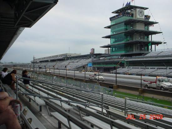 Front Straightaway Looking Towards Turn 4   Indianapolis