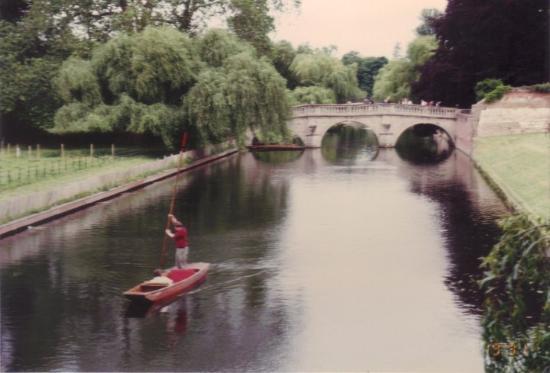 Clare College: Clare Bridge over the River Cam