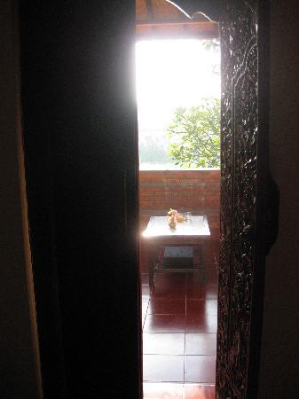 Garden View Cottage: vue de la chambre