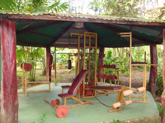 Atlantida Lodge: The outdoor gym