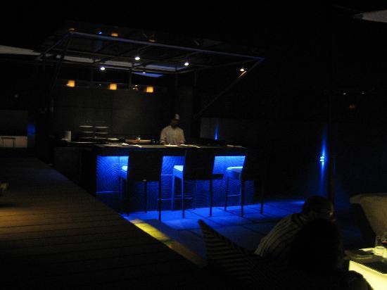 The Lalit Ashok: OKO Restaurant(outside)