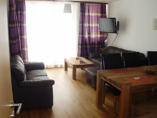 Apparthotel Alpinara : Wohnraum