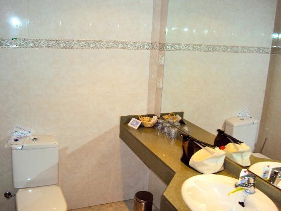 Hotel Bruxelles: Baño