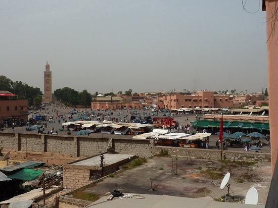 Riad Andalla: dalla terrazza