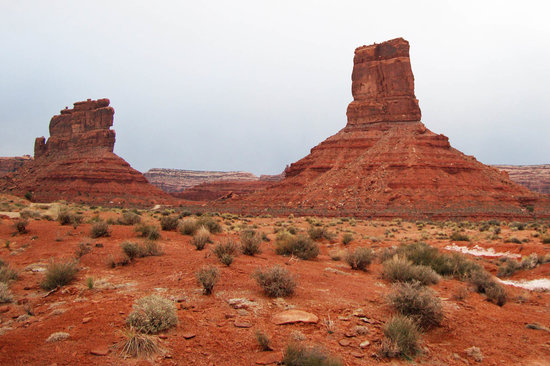 Mexican Hat, UT: Castle Butte