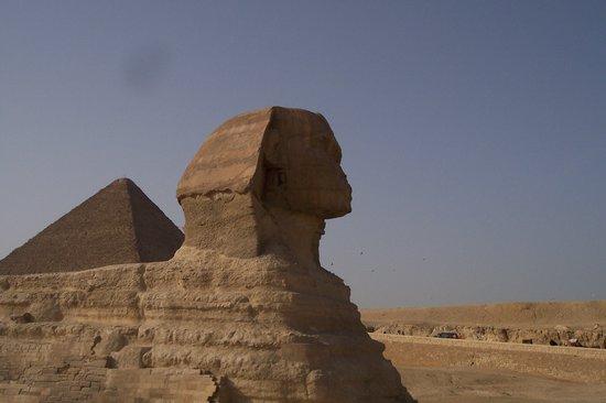 El Cairo, Egipto: la sfinge