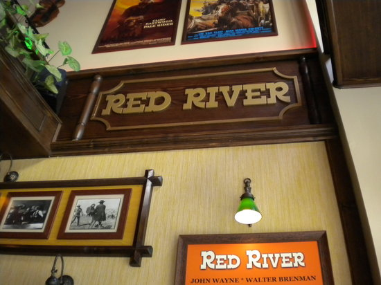 Red River Pub: déco western