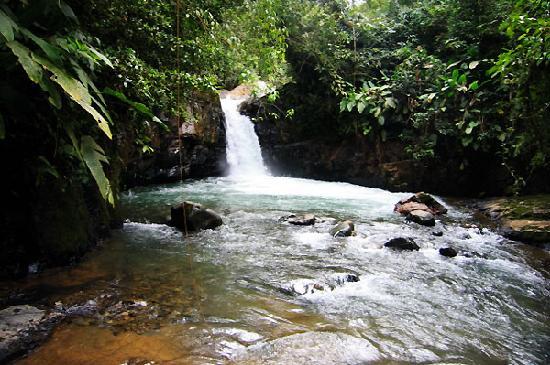 Monte Azul: Cool mountain streams abound