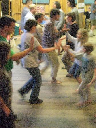 Medomak Camp and Retreat Center: Evening contra dance