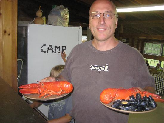 Medomak Camp and Retreat Center: Lobster Night!