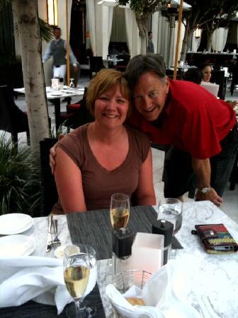 Riviera Palm Springs Resort: Eddie and me