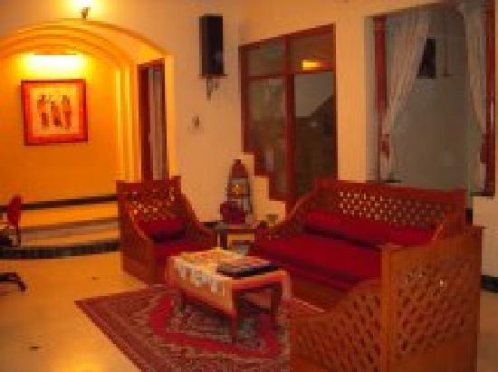 Jaipur Friendly Villa: Common Lounge