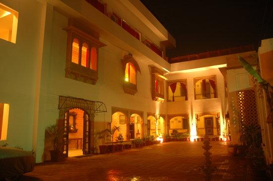 Hotel Megh Niwas: Hotel Meghniwas View