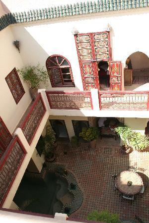 Riad Julia: Vue du Riad d'en haut