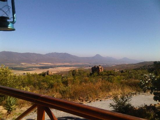 Wolfkop Nature Reserve: View from the Jacuzzi