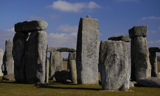 Stonehenge: Stones were assembled with mortise and tenon joints