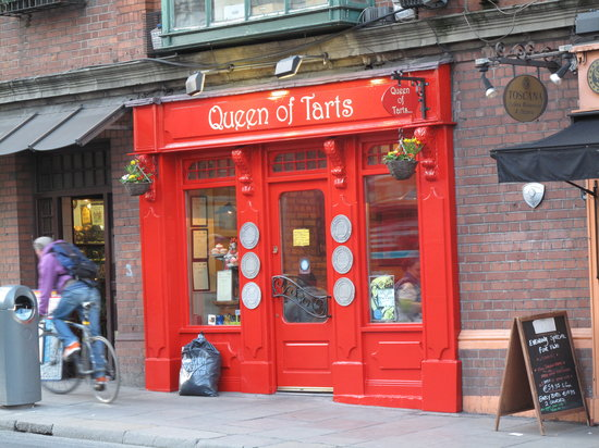Queen of tarts dublin south city centre restaurant for Appart city dublin