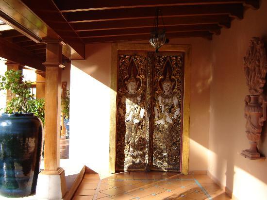 Hotel Botánico & The Oriental Spa Garden: puerta de entrada al spaq