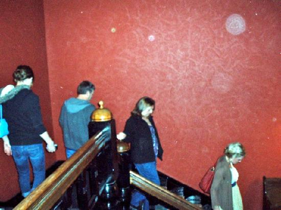 1886 Crescent Hotel & Spa: Orbs on our ghost tour.