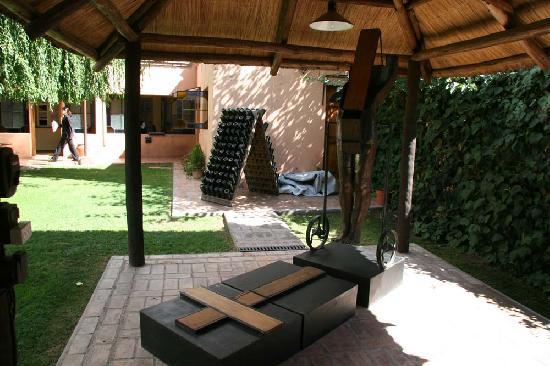 Casa Margot - Hotel Champagnerie: Casa Margot Sculpture Garden