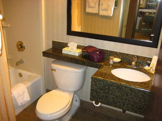 Hotel Harrisonburg: bathroom
