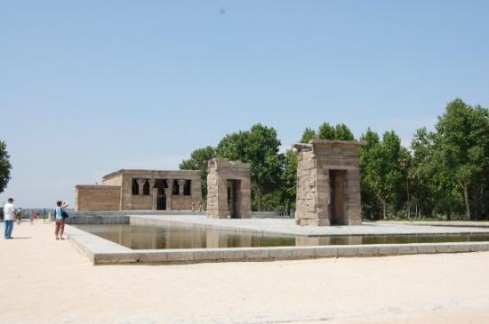 Bilde fra Templo de Debod