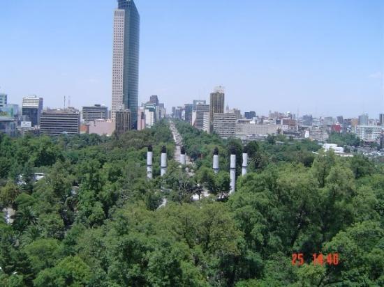 Torre Latinoamericana: México City vanop Chapultepec Chapultepec, México City, D.F., México 2004