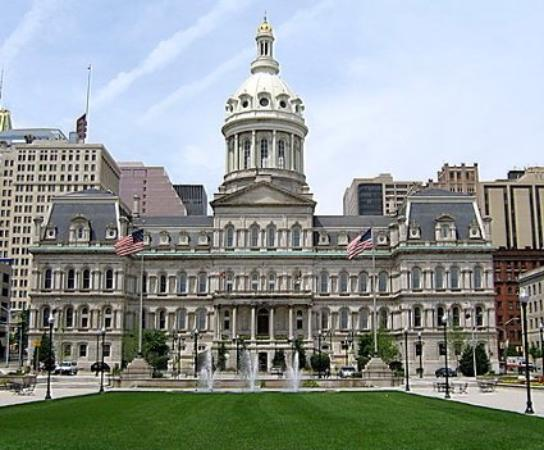 ‪بالتيمور, ‪Maryland‬: City Hall, Baltimore, MD‬