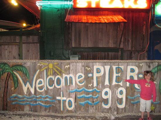 Pier 99: my daughter