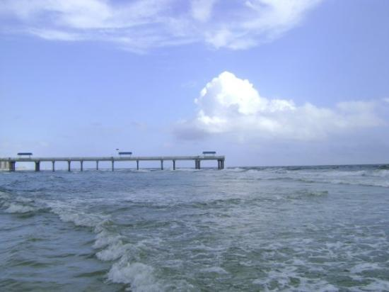 Gulf Shores, AL: This is looking out East. No storm!