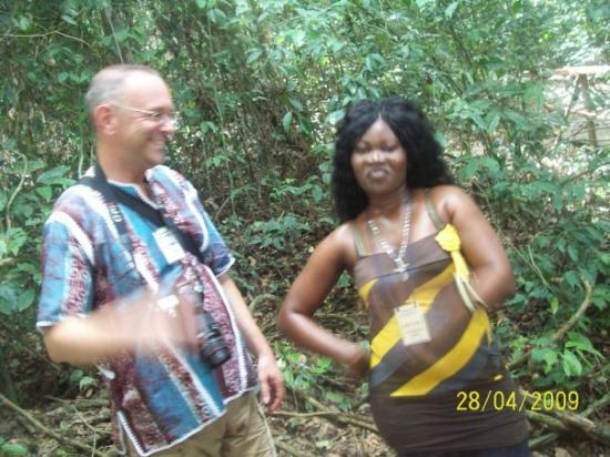 Kakum National Park: with Sarah