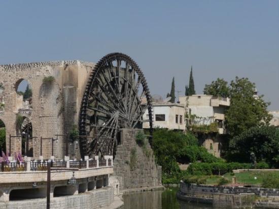 Norias Park : Hama waterwheels