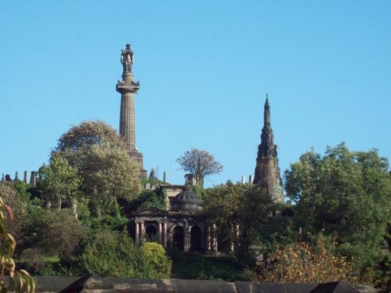 กลาสโกว์, UK: Only a tiny part of the Necropolis in Glasgow