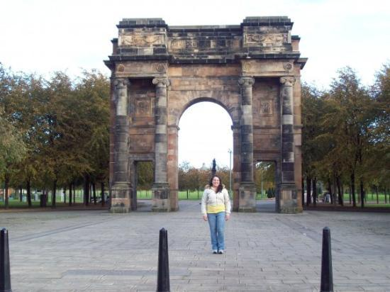 Me at the Glasgow Greens.