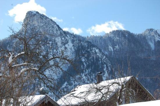 Oberammergau, Tyskland: Is that Mount Crumpit?