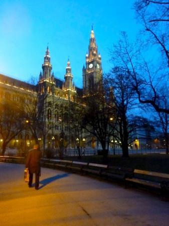Rathaus (det nye rådhuset): The City Hall