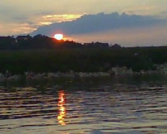 Buford, GA: Sunset on the lake