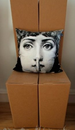 Wallace's Arthouse Scotland: A Fornasetti cushion