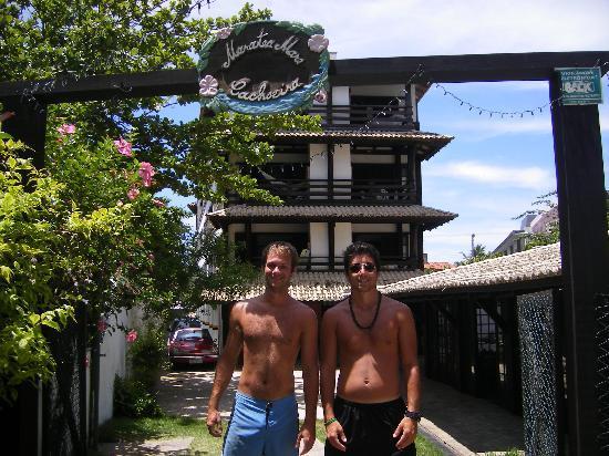 Hotel Maratea Mare: En la salida a la playa!