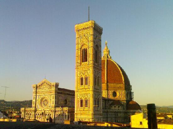 Al Duomo: The view from the roof terrace