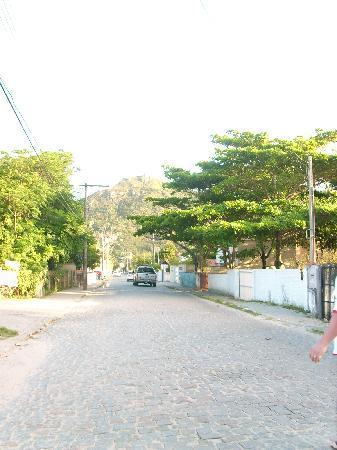 Pousada Ilha Bella: algunas de las calles de canto grande