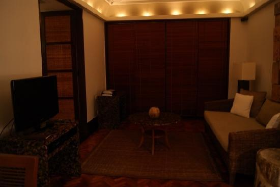 The Legian Bali : comfortable living room