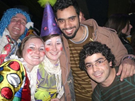 Mainz, Tyskland: Trilha festiva, Carnaval...