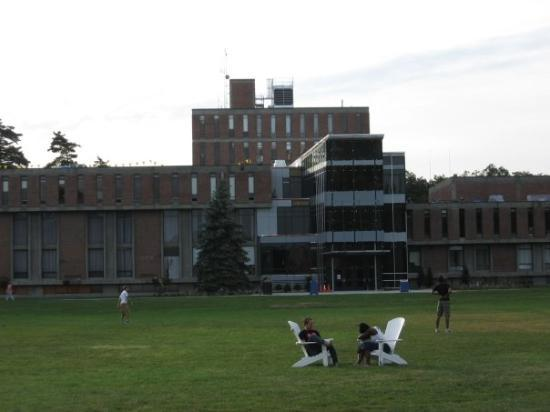 September 8, 2009. Westfield State College. Ely. The outside view of Ely.
