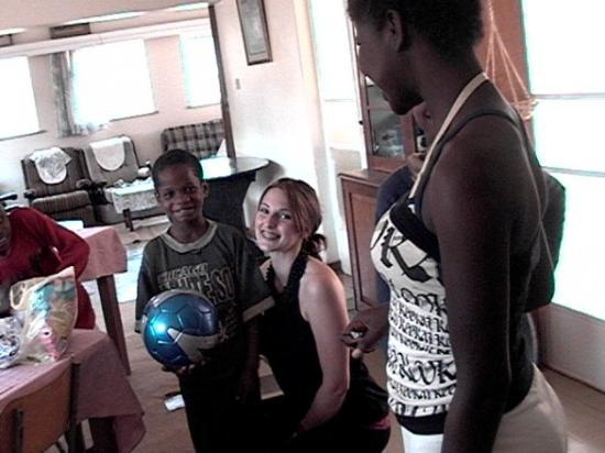 Harare, Zimbabwe: SIMBA! my soccer star!